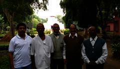 Teachers with Rana Sengupta