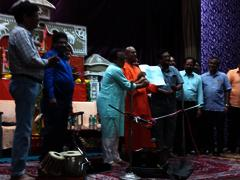 Swami Putanandaji Memorial Fund handover
