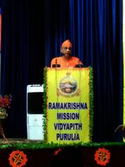 Swami Sivapradanandaji at Diamond Jubilee Celebration