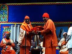 Swami Jnanalokanandaji's Farewell