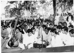 Ceremony at Sabha Bedi